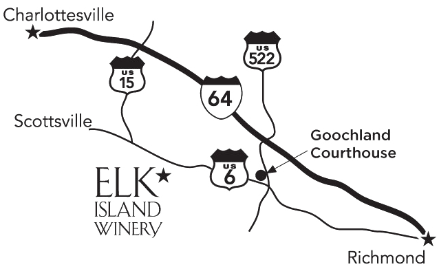 Map - Elk Island Winery